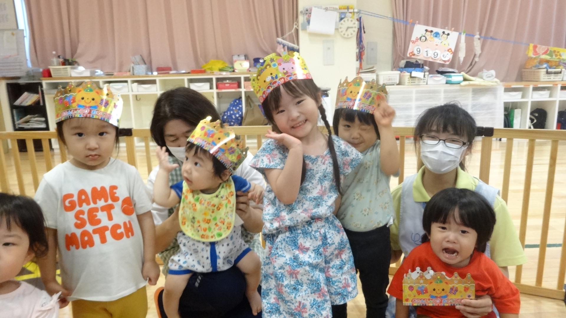 9月生まれの十五夜誕生会!